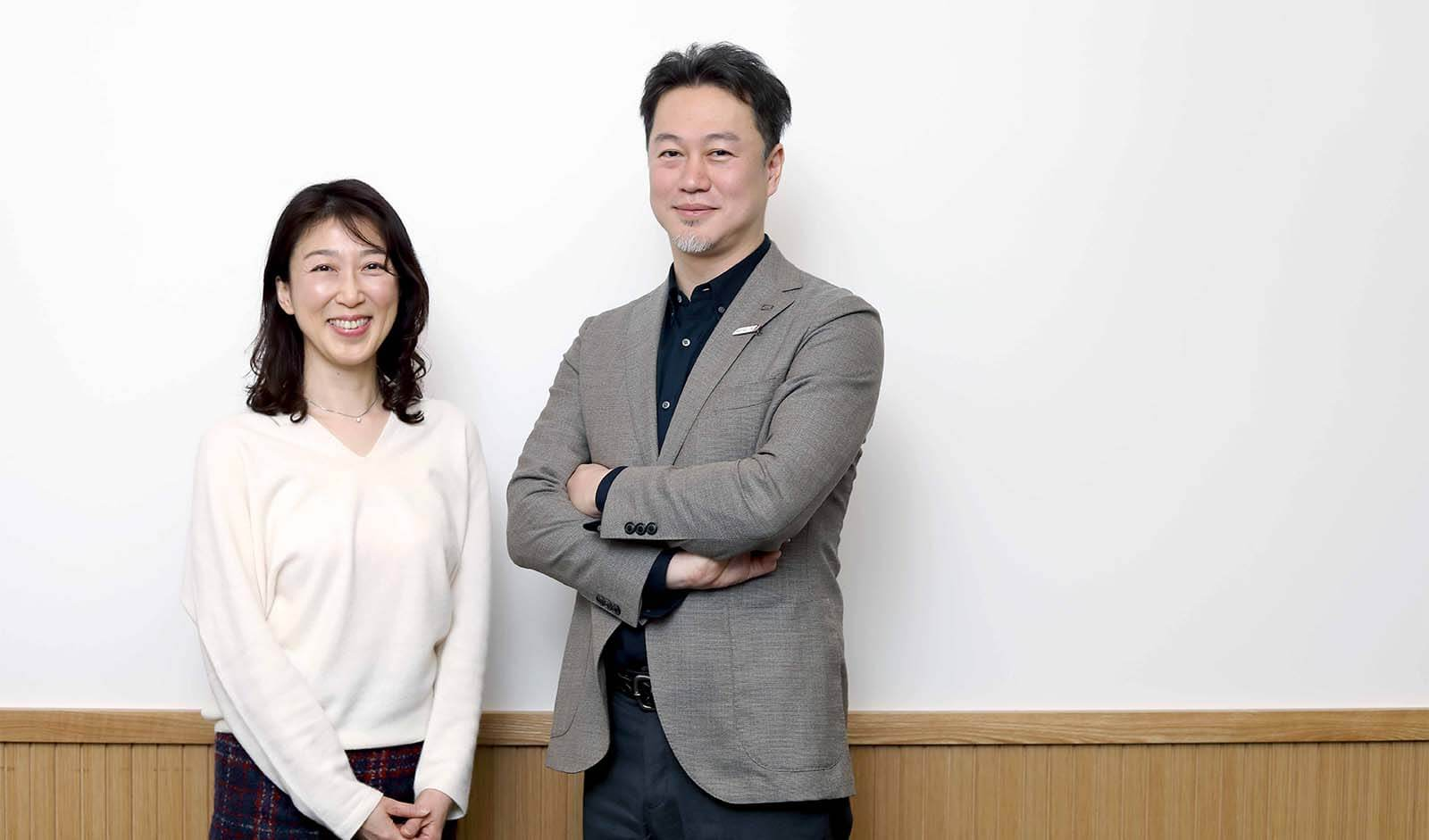 株式会社JTB 山上氏、福田氏(左から)