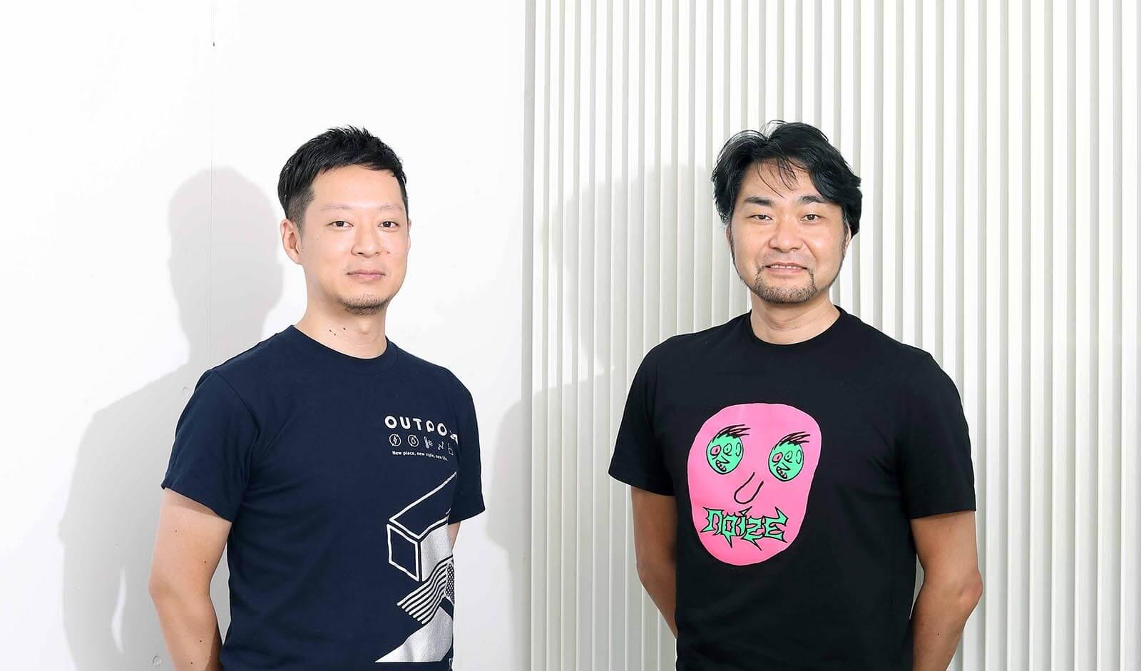 トレジャーデータ株式会社 若原 強氏(左)、株式会社エムテド 田子 學氏(右)